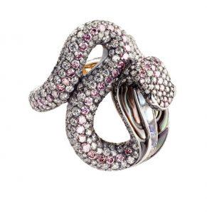 Bague serpent - Fabergé