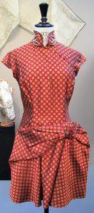 Robe haute couture John Galiano pour Dior 1ère collection - 1998.